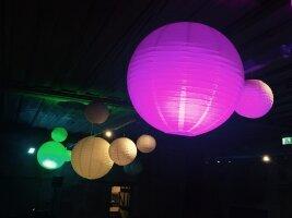 Schöne Beleuchtung Firmenevent